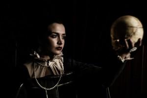 Deborah Dominguez in The Ebony Frame. Photo by John Thvedt