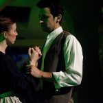 "Katie Pelensky and Michael Perl in ""The Chimes,"" Wicked Lit 2011. Photo by Daniel Kitayama."