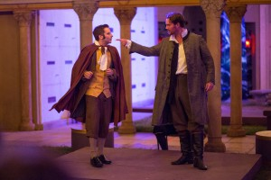 """Eric DeLoretta and Shawn Savage in """"The Legend of Sleepy Hollow"""""""