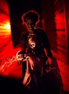 Wicked Lit 2016 - Ariel Brown in Anansi and the Demons. Unbound Productions.