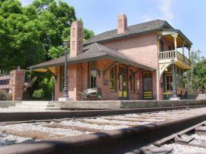 Santa Anita Train Depot