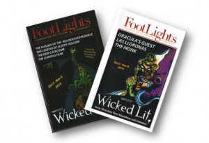 Advertise in the Wicked Lit 2015 Program