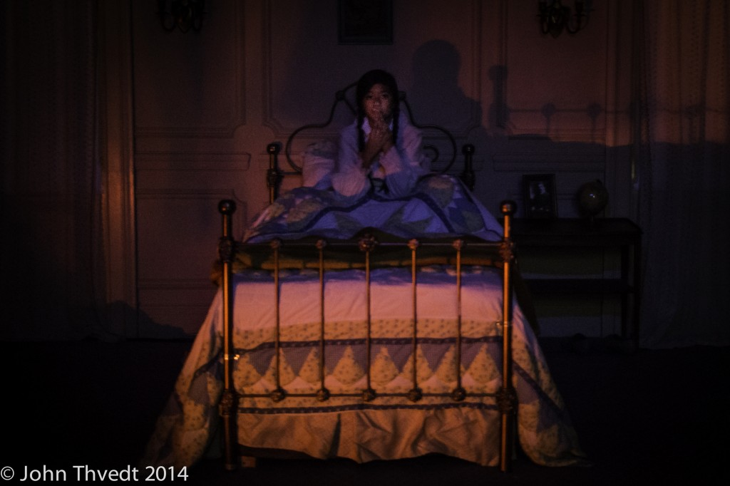Unbound Productions' THE DOLL. A Wicked Lit installation.