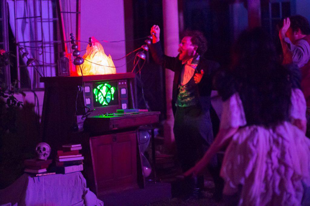 "Dustin Hess - ""The Spirits of Walpurgisnacht."" Wicked Lit 2014 - Photo by Daniel Kitayama"