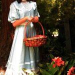 "Ilona Kulinska in ""The Garden Party."" History Lit 2012. Photo by John Thvedt."