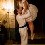 "Sonny Lira and Lisa McNeely in ""Las Lloronas."" Wicked Lit 2014. Photo by Daniel Kitayama"