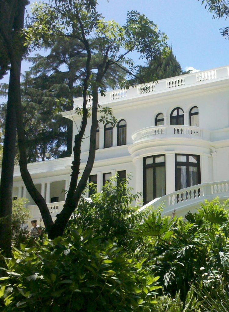 The Fenyes Mansion. On the grounds of the Pasadena Museum of History.