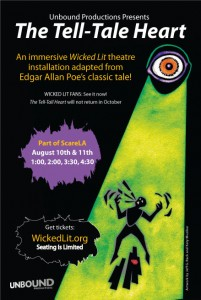 Get tickets to THE TELL-TALE HEART!