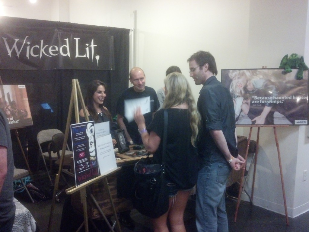 Wicked Lit at ScareLA 1