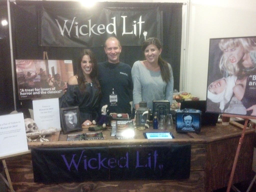 Wicked Lit at ScareLA 2